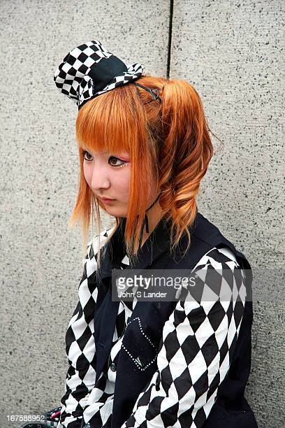 Little foundling cosplay girl in Harajuku 'Cosplay' or costume play is a recent phenomenon in Japan It is said that it began with the popularity of...