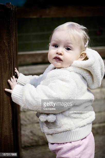 Little Girl at the Farm