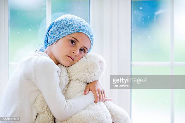 Little Girl Awaiting Chemotherapy Treatment