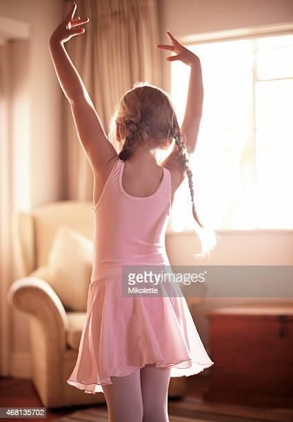 Little girl, big ballet dreams