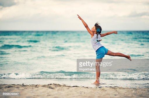 Italy Livorno Silhouette Of Little Girl Dancing On Terrazza Mascagni ...