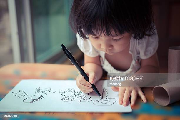 little girl drawing (IMG_3100)