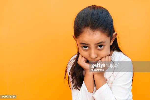 little girl facial expressions - children only stock pictures, royalty-free photos & images