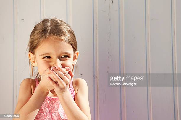 Little Girl giggling
