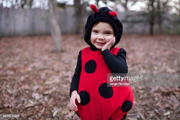 Little Girl in Ladybug Custume