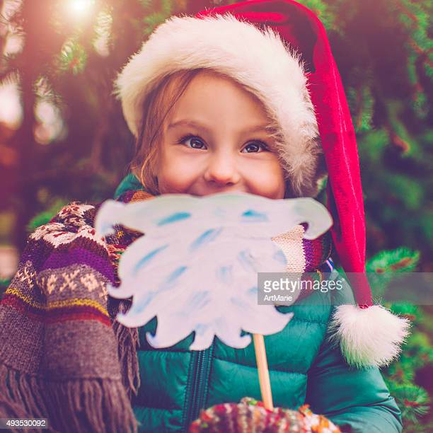 Little girl in Xmas