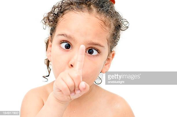 little girl making funny face - cross eyed stock pictures, royalty-free photos & images