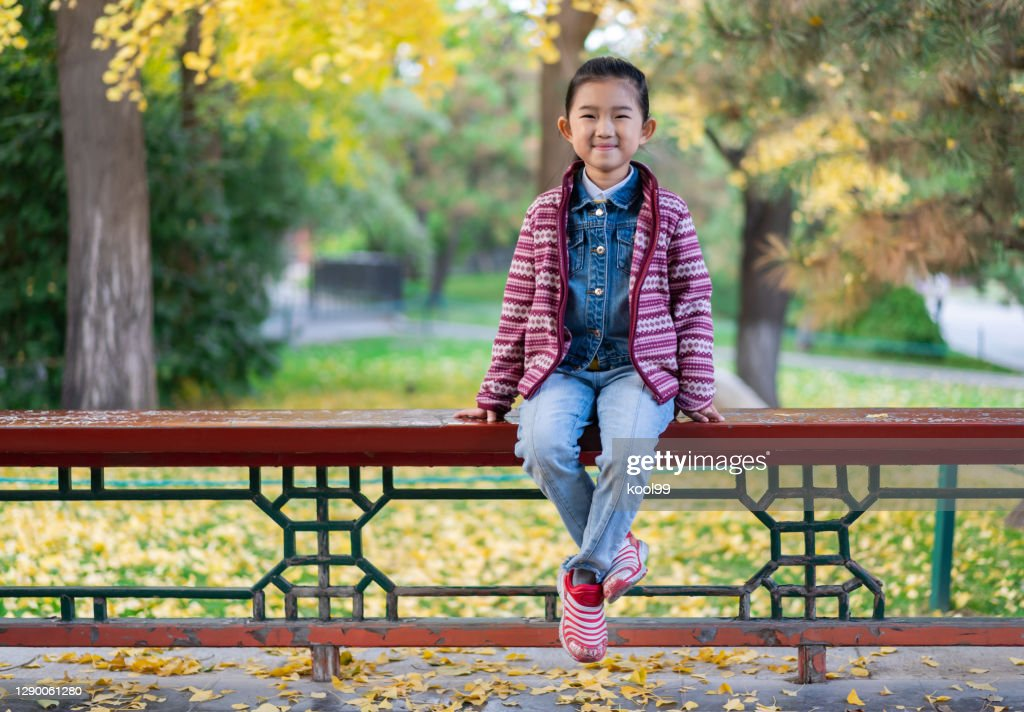 Portrait Of Little Girl High-Res Stock Photo - Getty Images