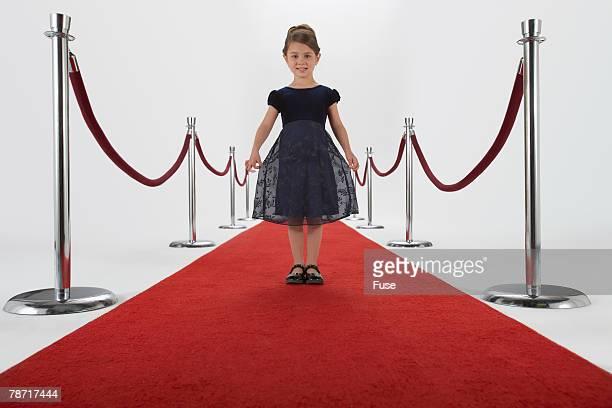 Little Girl on the Red Carpet