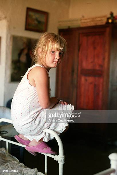 little girl - ukraine stock pictures, royalty-free photos & images