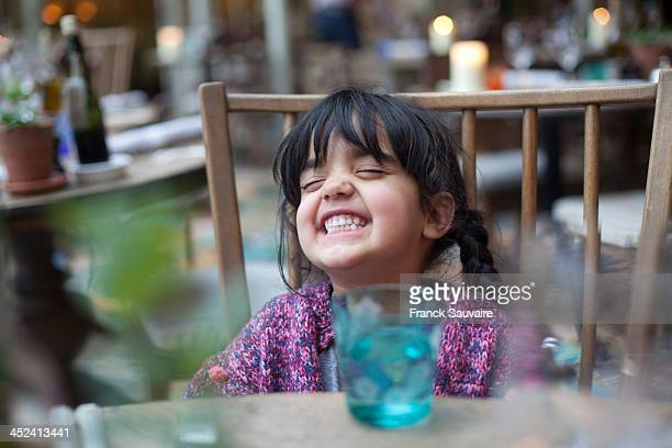 a little girl playing by herself - head back stock pictures, royalty-free photos & images