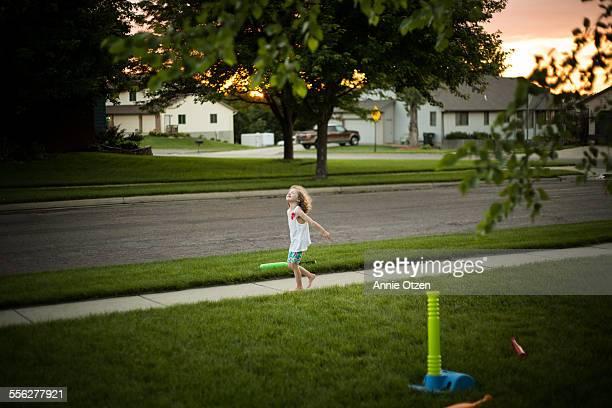 Little Girl Runnyng