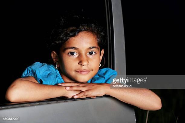Little Girl Portrait de repos