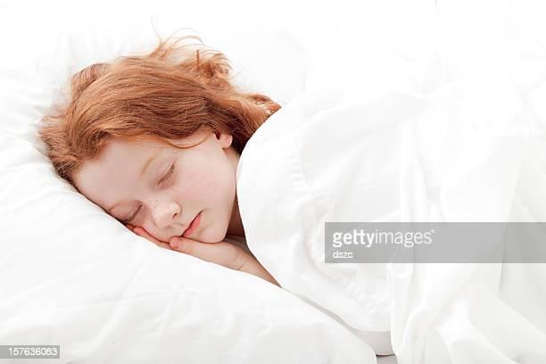 Petite fille dormir
