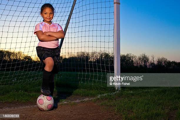 Little girl soccer
