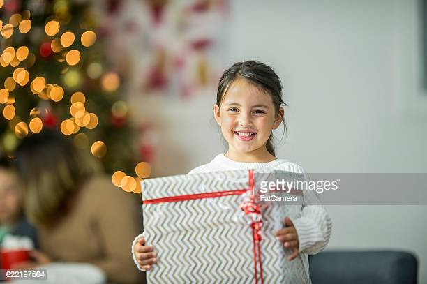 Little Girl with a Big Gift