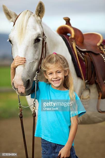 Little Girl with Welsh Pony