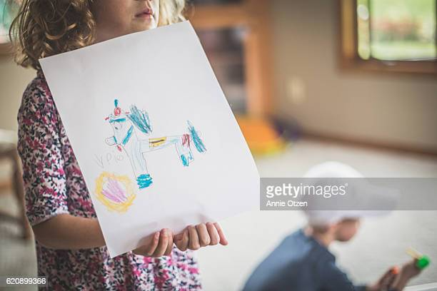Little Girl's Art