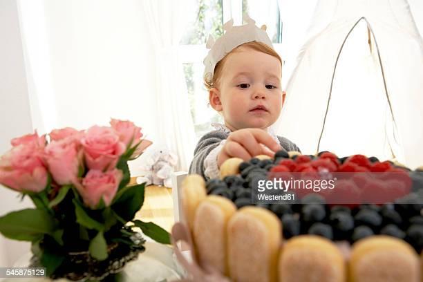 Little girls first birthday