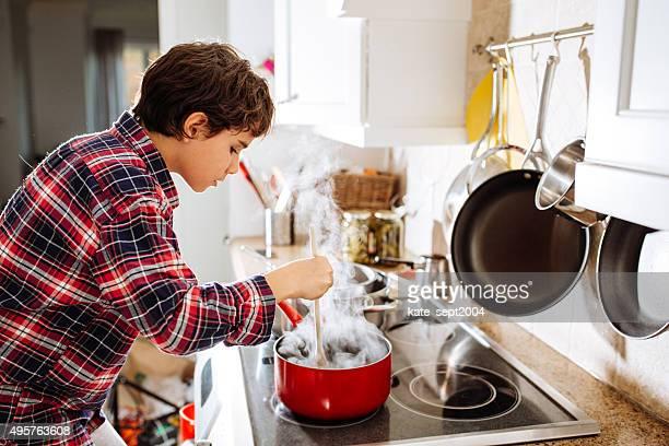 Little helper on the kitchen