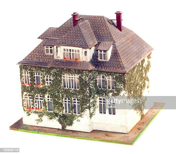 little home modell - weitwinkel stock-fotos und bilder
