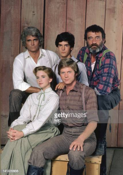 "New Beginning -- ""Little House: Look Back to Yesterday"" -- Pictured: Michael Landon as Charles Philip Ingalls, Matthew Laborteaux as Albert Quinn..."