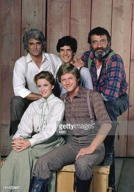 A New Beginning 'Little House Look Back to Yesterday' Pictured Michael Landon as Charles Philip Ingalls Matthew Laborteaux as Albert Quinn Ingalls...