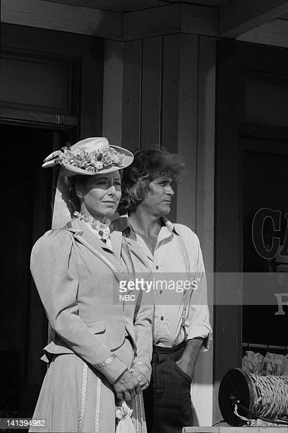 A New Beginning Little House The Last Farewell Air Date Pictured Karen Grassle as Caroline Quiner Holbrook Ingalls Michael Landon as Charles Philip...