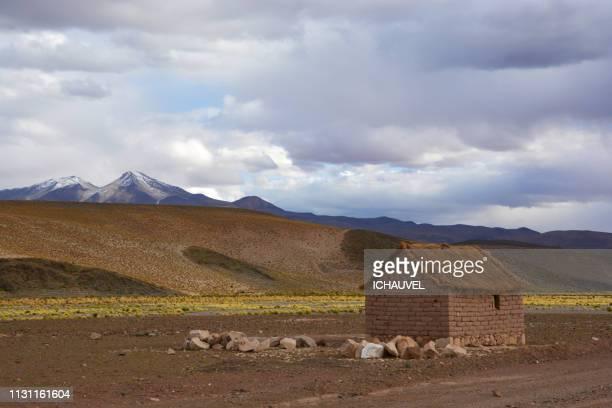 little house south lipez bolivia - tour structure bâtie stock pictures, royalty-free photos & images