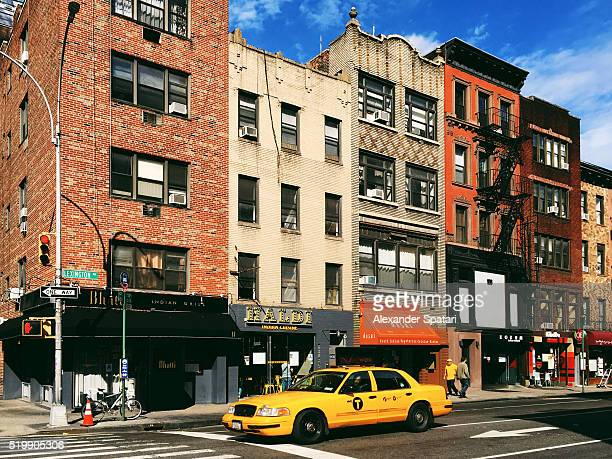 Little India district in East Village, New York City, USA
