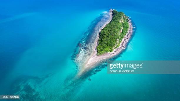 Little island in Thai gulf