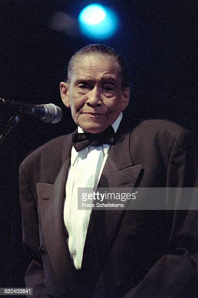 Little Jimmy Scott, vocal, performs during Crossing Border festival on October 7th 1999 at the Congresgebouw in the Hague, Netherlands.