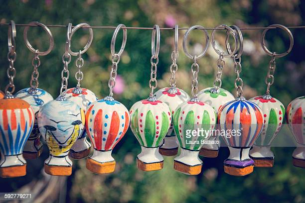 Little key chains with balloons