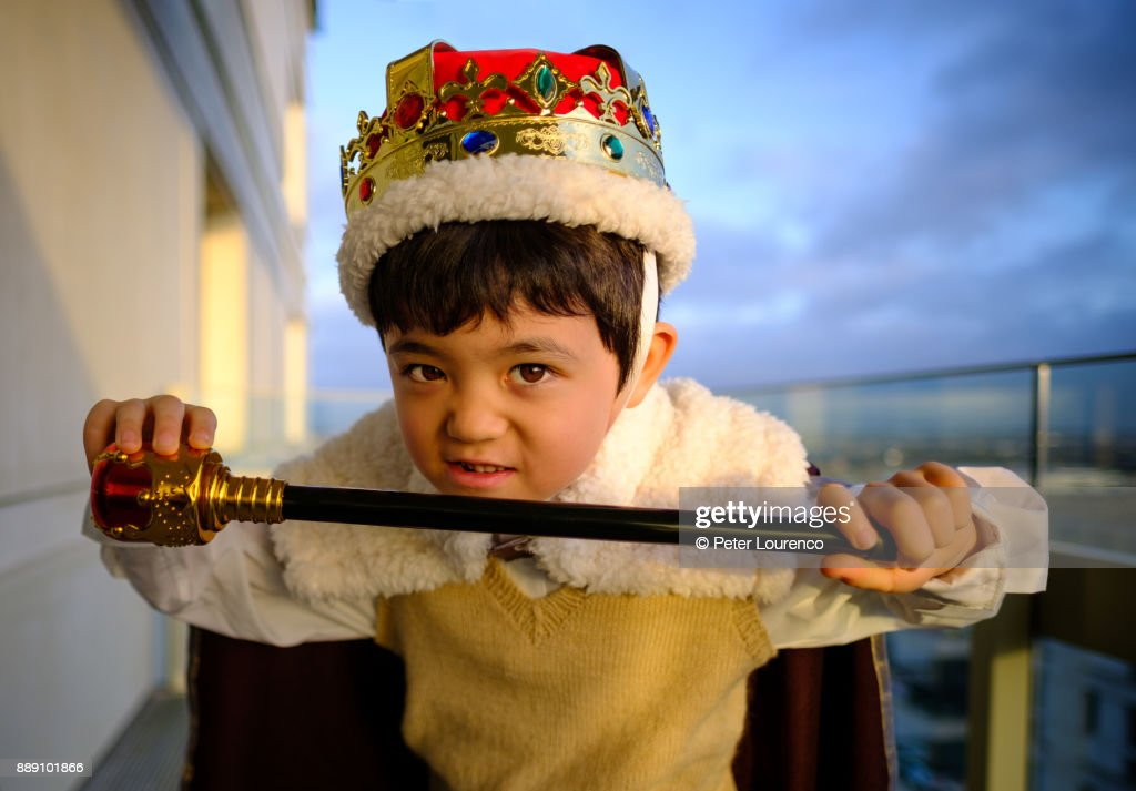 Little king. : Stock Photo
