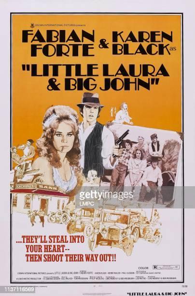 Little Laura And Big John poster US poster from left Karen Black Fabian Forte 1973