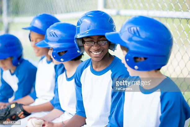 little league baseball - baseball team stock pictures, royalty-free photos & images