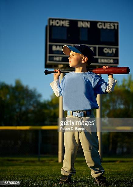 Little League Baseball Portrait