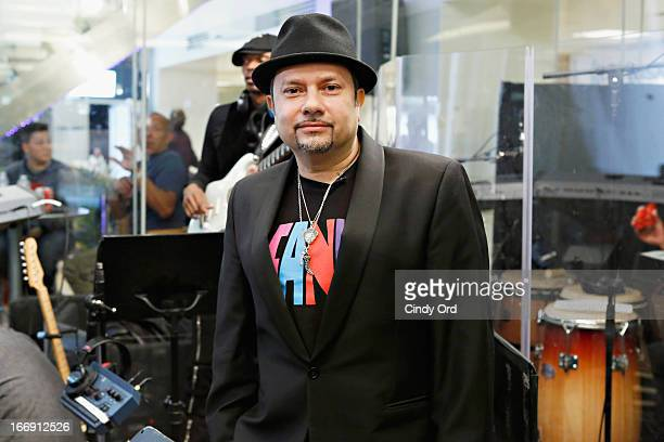 Little' Louie Vega performs at the SiriusXM Studios on April 18, 2013 in New York City.