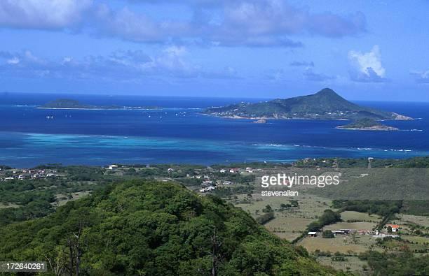 petit martinica - paisajes de isla de  granada fotografías e imágenes de stock