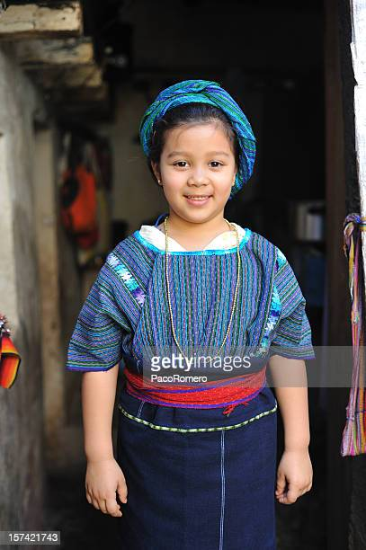 Little Mayan girl