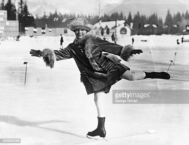Little Miss Sonja Henie of Norway was the youngest competitor in the Winter Olympics at Chamonix The 12yearold daughter of the Vikings took part in...