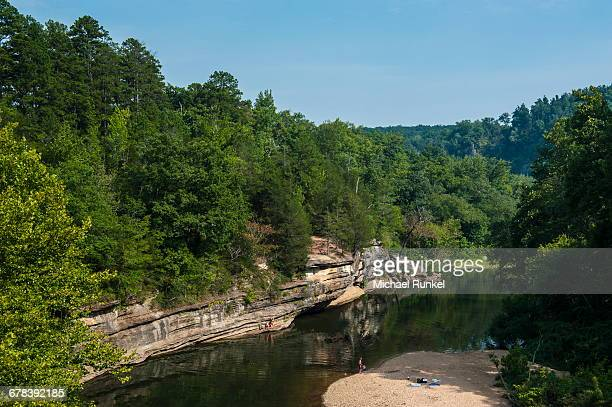 little missouri river, ozark national forest, arkansas, united states of america, north america - ozark mountains stock pictures, royalty-free photos & images