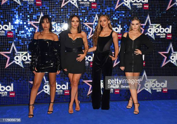 Little Mix - Leigh-Anne Pinnock, Jesy Nelson, Jade Thirlwall and Perrie Edwards attend The Global Awards with Very.co.uk at the Eventim Apollo,...