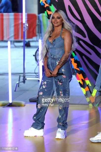 Little Mix perform their new single Bounce Back at The One Show on June 14 2019 in London England