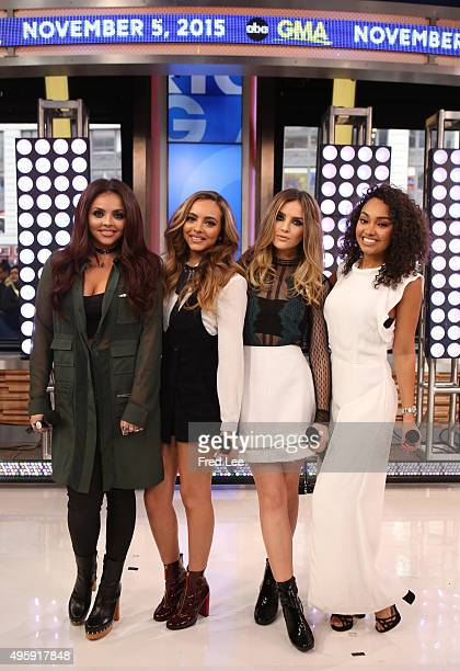 AMERICA Little Mix performs live on GOOD MORNING AMERICA 11/5/15 airing on the ABC Television Network