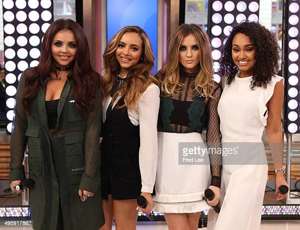 AMERICA Little Mix performs live on GOOD MORNING AMERICA 11/5/15 airing on the Walt Disney Television via Getty Images Television Network