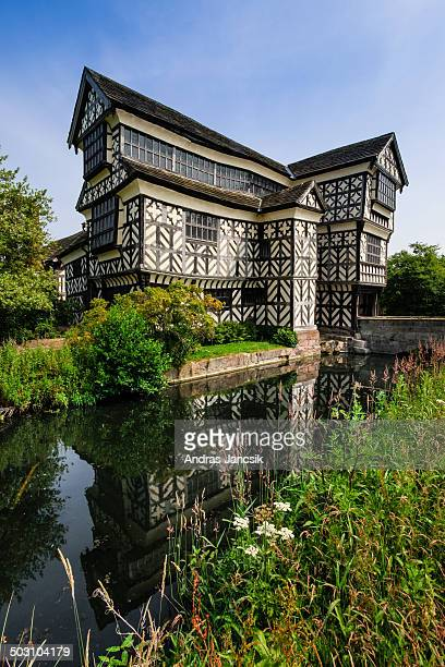 CONTENT] Little Moreton Hall is a beautiful halftimbered old English manor house The earliest parts of the house were built more than 500 years ago