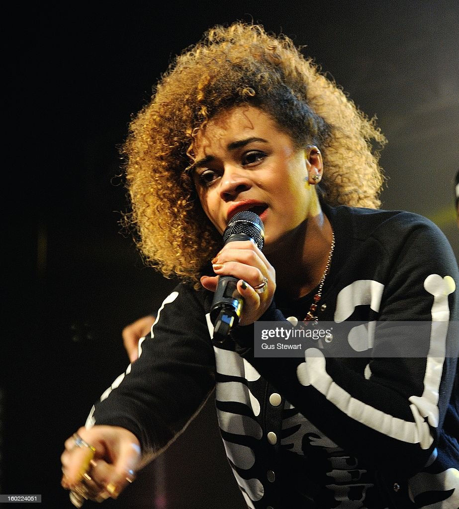 Little Nikki performs on stage as part of the MTV Brand New series at The Forum on January 22, 2013 in London, England.