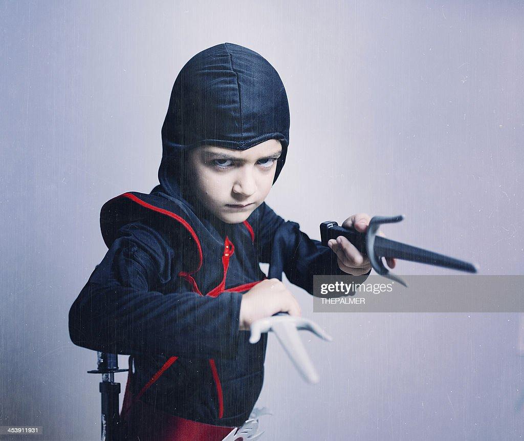 little ninja : Stock Photo