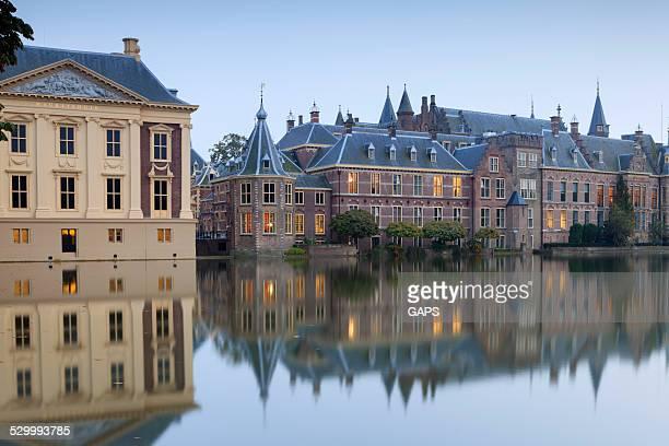 little office tower of the dutch prime minister - eerste minister stockfoto's en -beelden